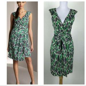 Diane Von Furstenberg Celosa Silk Wrap Dress 10